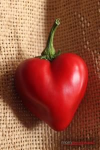 bell pepper heart Mompowerment